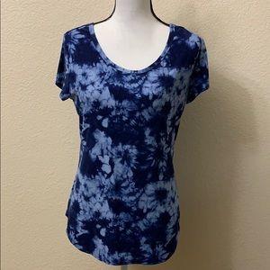 Blue Tye Dye Shirt